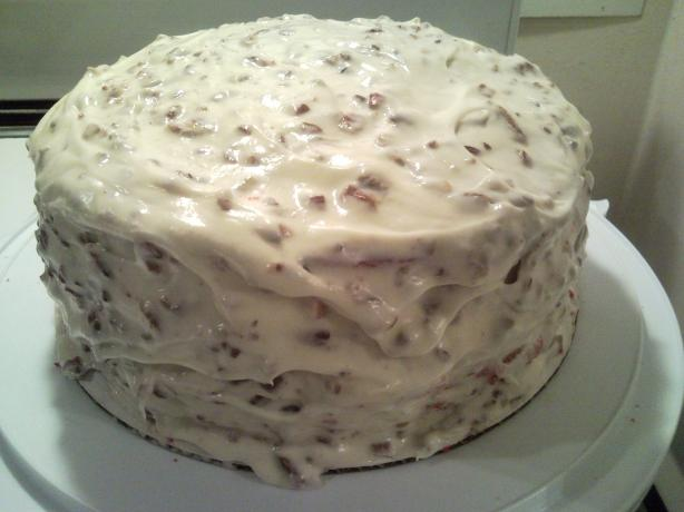Missy's Red Velvet Cake W/Cream Cheese Frosting. Photo by DNicki