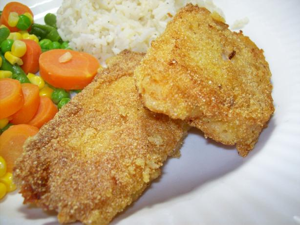 Pan Fried Cornmeal Batter Fish Recipe Food Com