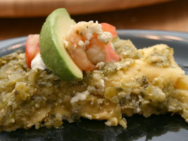 Shrimp and Cotija Enchiladas With Salsa Verde and Crema Mexicana ...