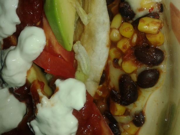 Black Bean and Corn Quesadillas. Photo by LuckyMomof3
