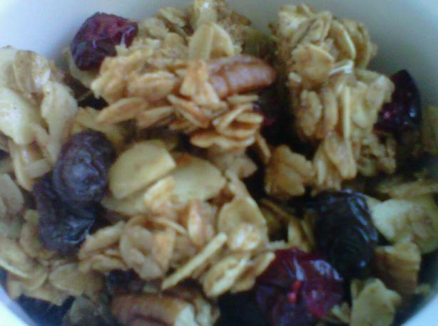 Easy Homemade Granola. Photo by Michelle in KY