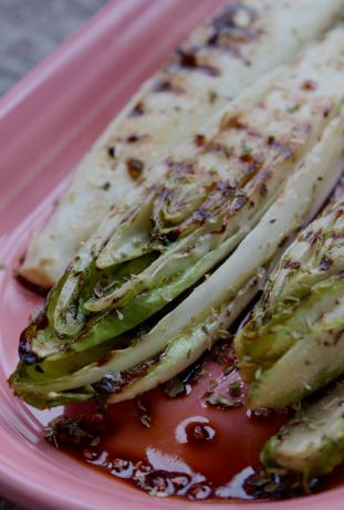Grilled Belgian Endive. Photo by Cookgirl