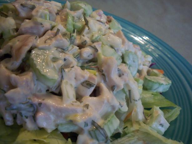 Tarragon Chicken Salad. Photo by *Parsley*