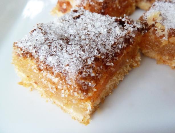 Yummy lemon bars recipe for Bar food yummy