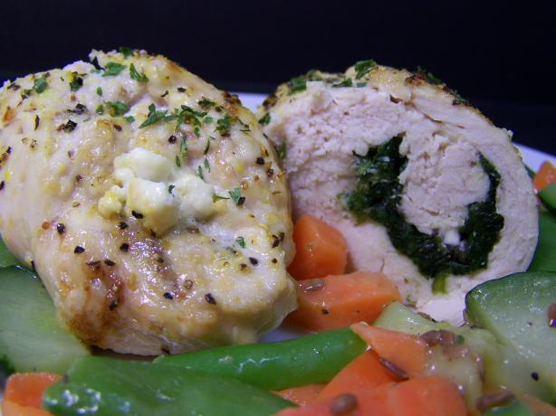 Spinach And Feta Stuffed Chicken Breasts Recipe - Food.com