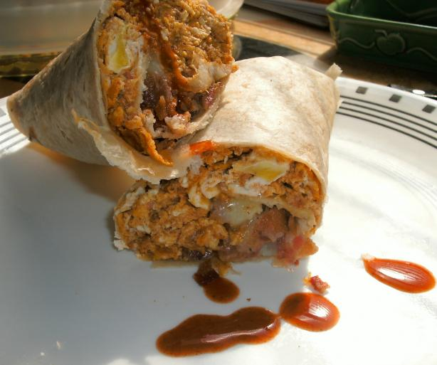 Big Belly Busting Breakfast Burritos!. Photo by sweetcakes