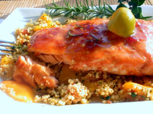 Maple Balsamic Glazed Salmon. Photo by gemini08