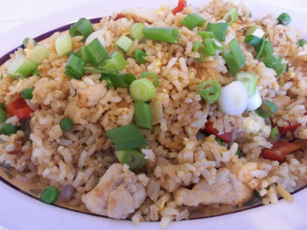 Ginger Chicken Fried Rice. Photo by AZPARZYCH