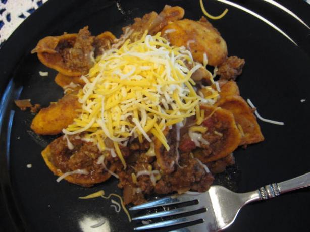 Beef Taco Frito Skillet Recipe - Mexican.Food.com