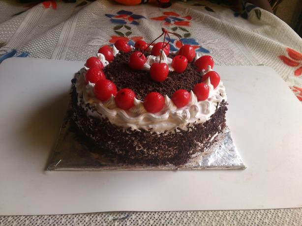 So Easy Black Forest Cake. Photo by zinaidad