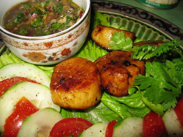 Thai Garlic Shrimp With Lemon-Coriander Sauce Recipe - Thai.Food.com