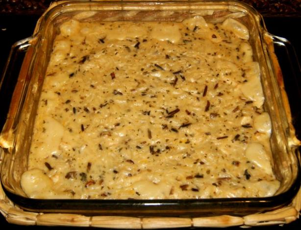 Wild Rice Chicken Casserole Recipe - Food.com