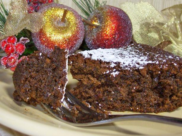 Dark Molasses Gingerbread Cake. Photo by Chef shapeweaver