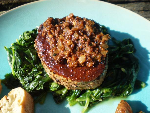Beef Tenderloin With Whole Grain Mustard & Tarragon Sauce. Photo by ...