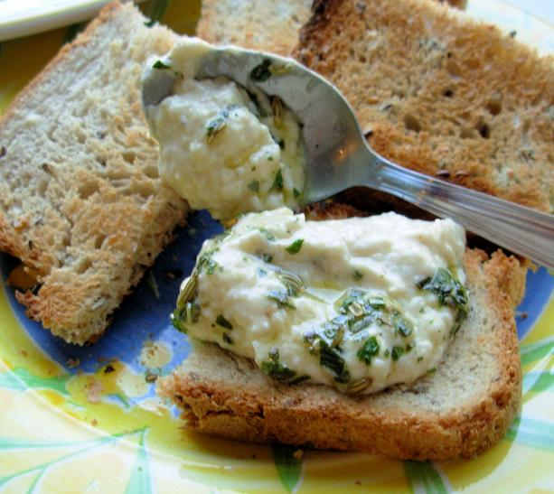 White Bean Dip With Basil Oil. Photo by French Tart