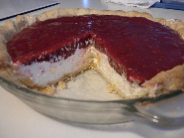 Raspberry Cream Cheese Pie. Photo by Battle in Seattle