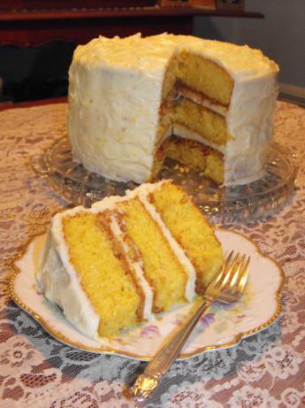 Bubble Room Orange Crunch Cake Recipe