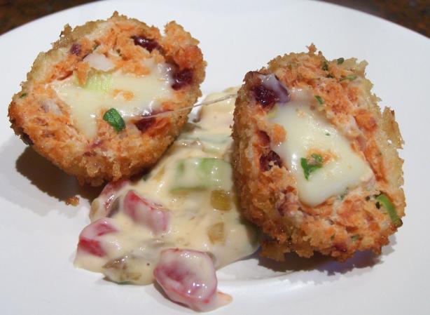 Salmon Surprise Balls Recipe - Cheese.Food.com