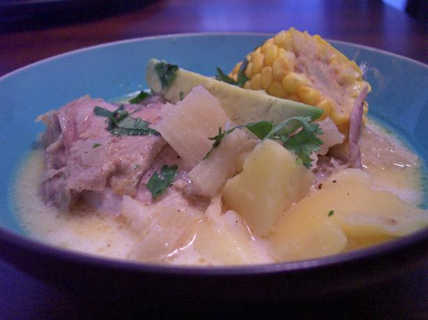 Ajiaco Bogotano Chicken And Potato Soup, Bogota Style) Recipe - Food ...