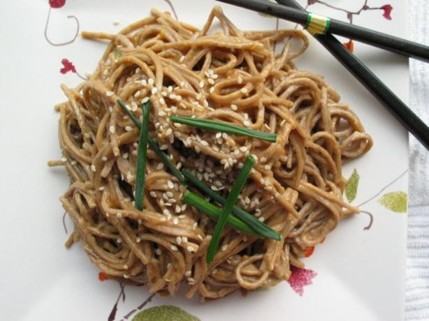 Peanut Butter Sesame Noodles Recipe - Chinese.Food.com