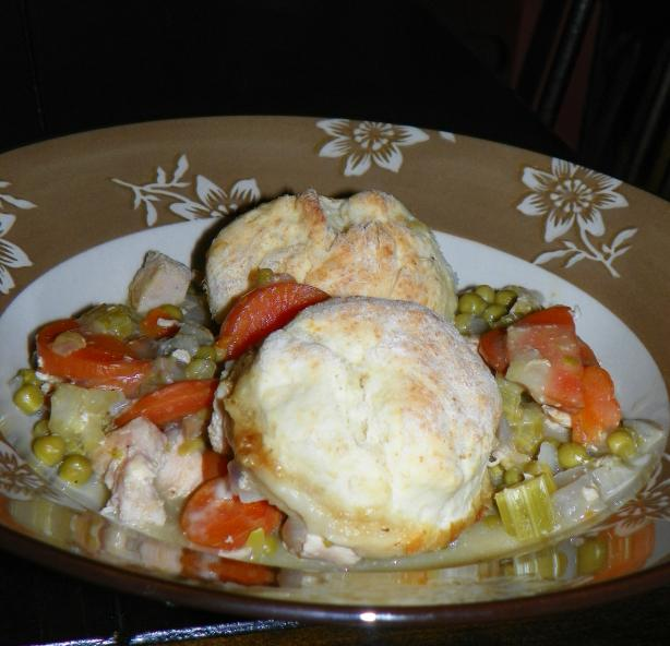 Easy Chicken Pot Pie easy fast recipe