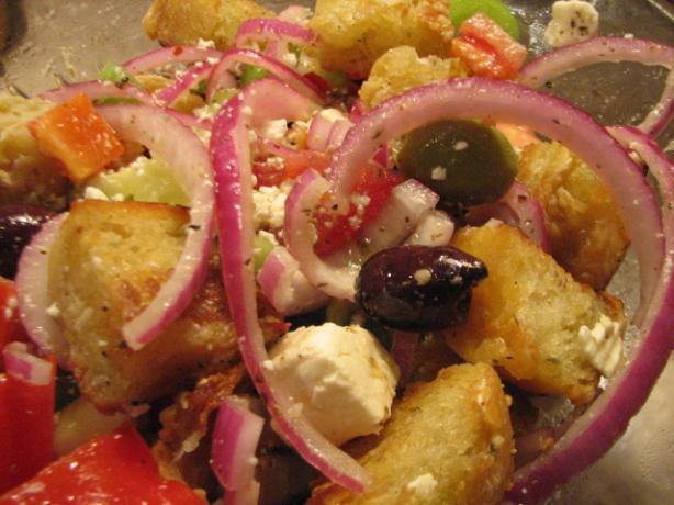 Barefoot contessas greek panzanella recipe Barefoot contessa panzanella