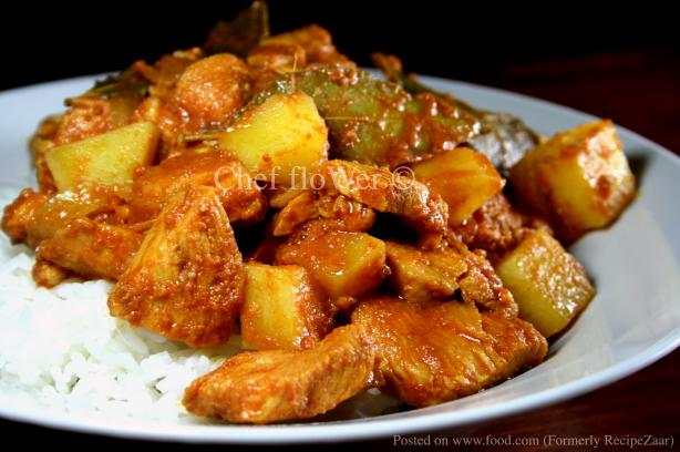 Chicken Vindaloo. Photo by Chef floWer