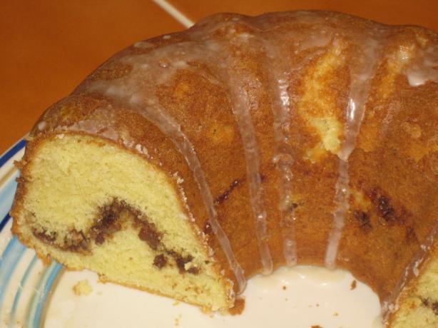 Cinnamon Streusel Coffee Cake. Photo by Chef Sarita in Austin Texas