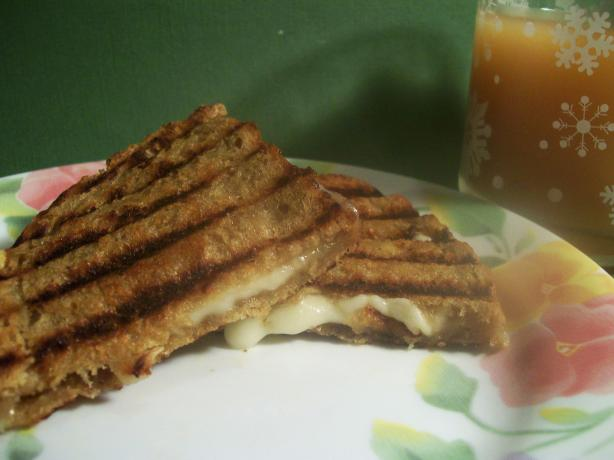 Grilled Cheese & Honey Panini Recipe. Photo by Sharon123