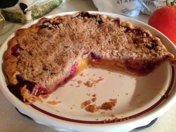 Peach Blueberry Pie Recipes — Dishmaps