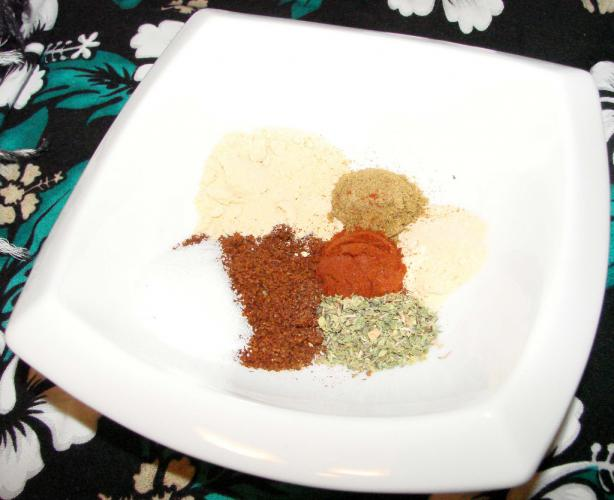 Homemade Taco Seasoning Mix. Photo by Boomette
