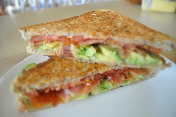 Spicy Grilled Bacon And Tomato Sandwich With Avocado Recipe - Food.com