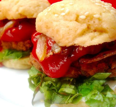 Black Jack Sliders (Mini Burgers). Photo by Roxanne J.R.