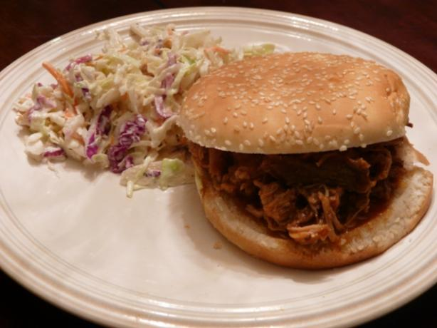 Pulled Pork in the Crock Pot. Photo by Jencathen