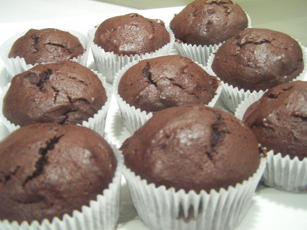 Cinnamon Brownie Cupcakes. Photo by Deantini
