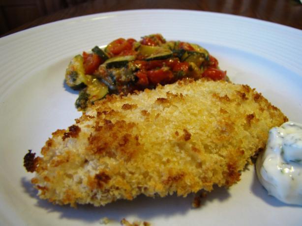 Panko encrusted cod recipe for Panko fried fish