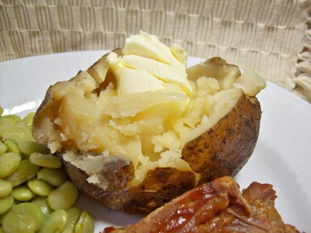 Crock Pot Baked Potatoes. Photo by Chef shapeweaver