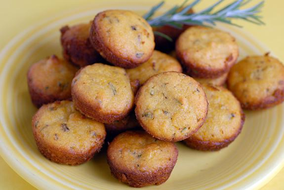 Lemon Rosemary Mini-Muffins Recipe - Food.com