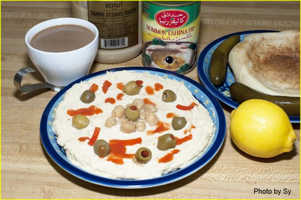 how to make hummus with canned chickpeas