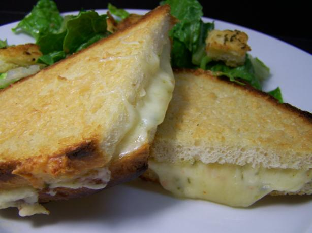 Parmesan-Crusted Grilled Cheese Sandwich. Photo by Diana #2