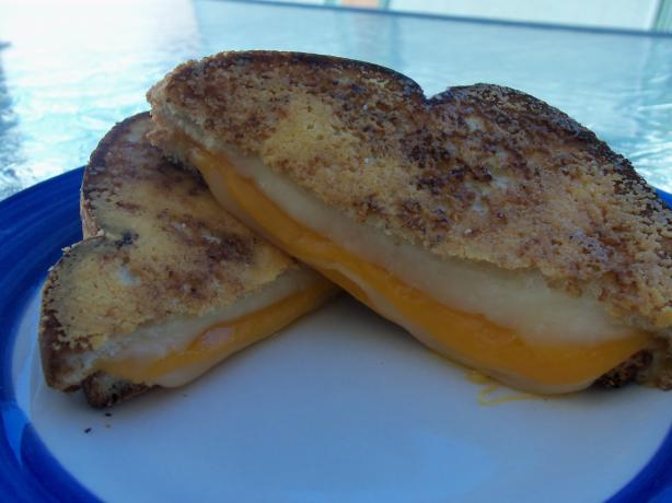 Parmesan-Crusted Grilled Cheese Sandwich. Photo by AZPARZYCH