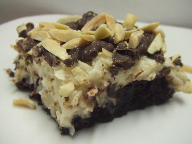 Almond Joy--Ee Brownies. Photo by Vseward (Chef~V)