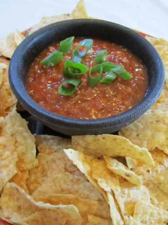 Chipotle-Tomatillo Salsa. Photo by Robyn's Cookin'
