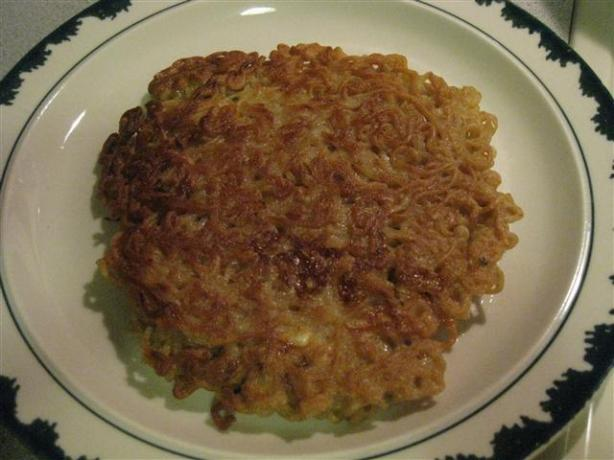 Ramen Egg Foo Young. Photo by truckerboo