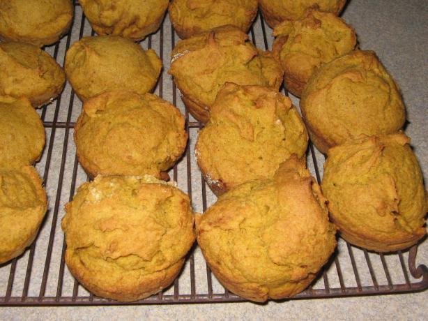 Yummy Gluten Free Pumpkin Muffins easy fast recipe