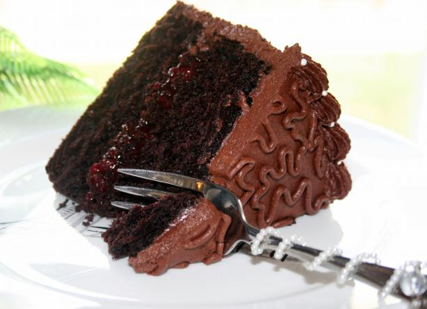 Decadent Devil's Food Cake. Photo by **Tinkerbell**
