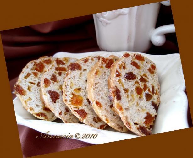 Apricot Biscotti. Photo by Annacia