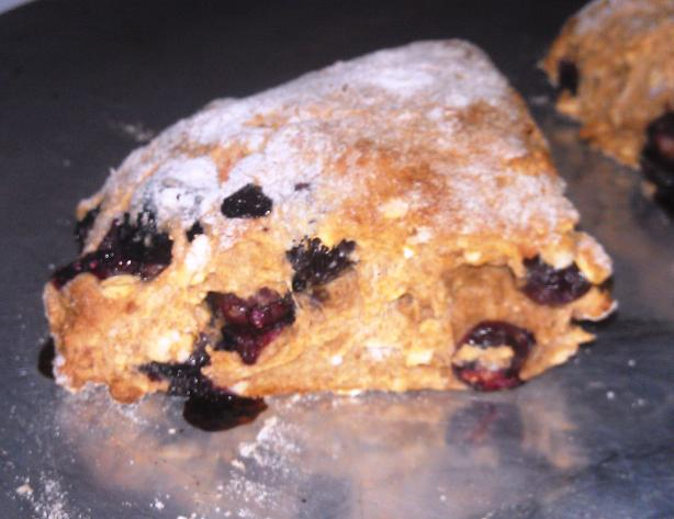 Easy Blueberry Almond Scones. Photo by DeCielo