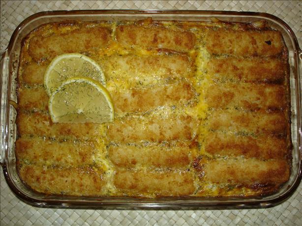 Fish stick supper recipe for Fish stick recipe
