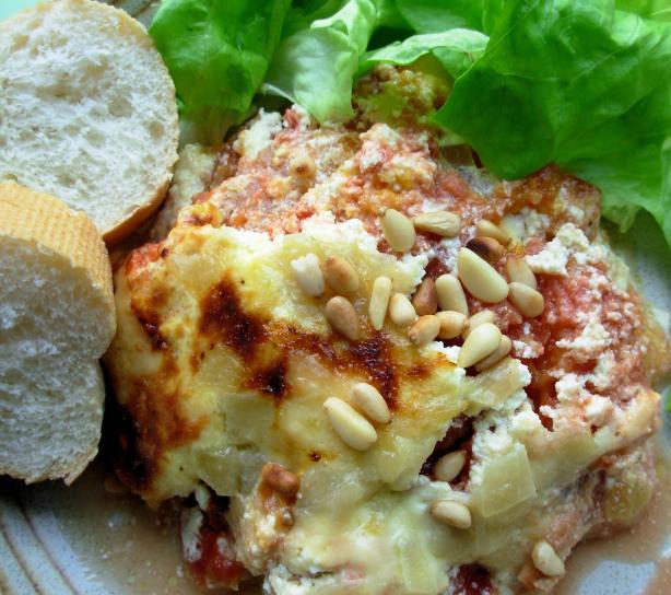 ... Roast Pumpkin and Cheese Lasagne - Lasagna. Photo by French Tart